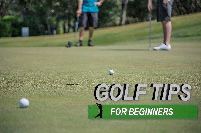 Basic Golf Tips For Beginner Golfers